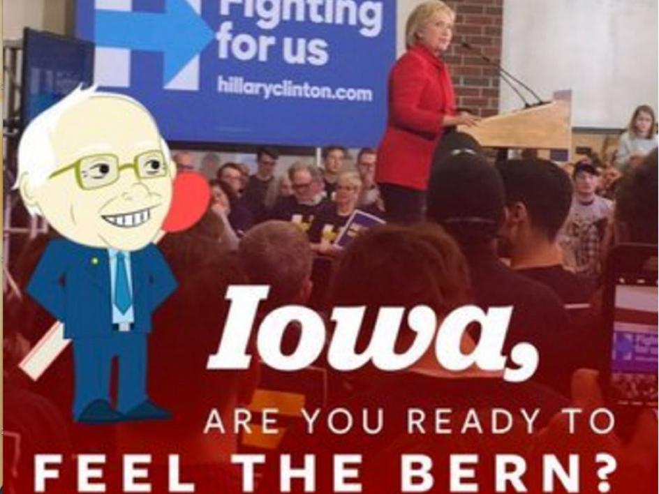 Bernie sanders Hilary Clinton